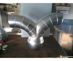 Izrada i montaza ventilacionih sistema u drvnoj industriji