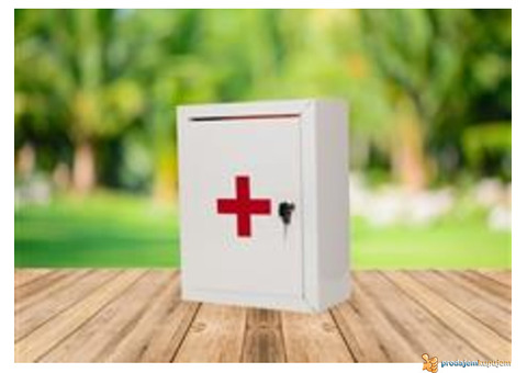 Zidne apoteke za prvu pomoć na radnom mestu