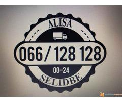 Selidbe, Auto, kombi i kamionski prevoz paletne , carinske robe od 1, 2, 3, 4.5 i 7t. robe